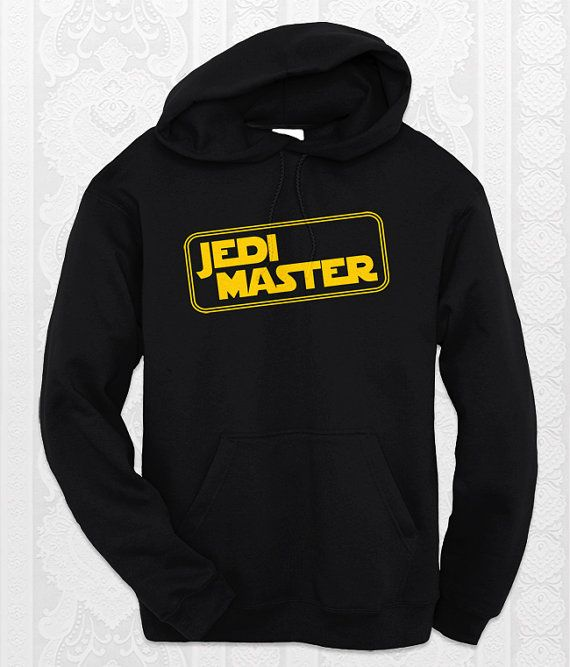 """""""Jedi Master""""   Star Wars hoodie. K I need this NOW."""