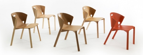 Pelt Chair - Benjamin Hubert