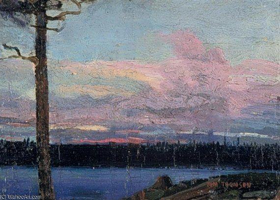 Soirée Ciel de Thomas Thompson (1877-1917, Canada)