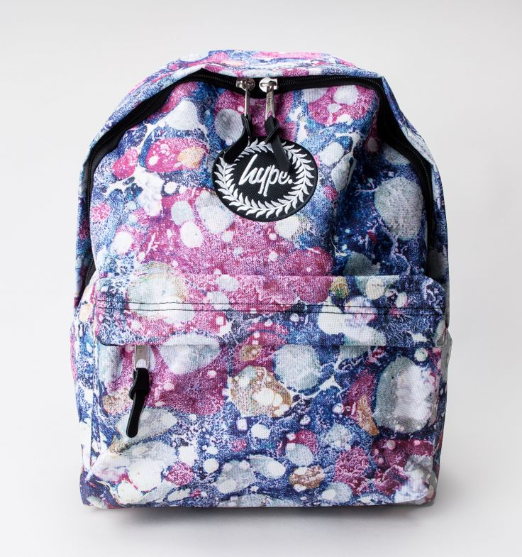 Hype Marble Rush Backpack Bags Multi