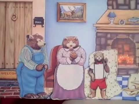 Children Stories | Goldilocks & The Three Bears Story by Cullen's Abc's This really keeps toddlers attention
