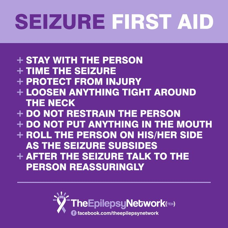 What to Do (and Not Do) If You See Me Having a Seizure