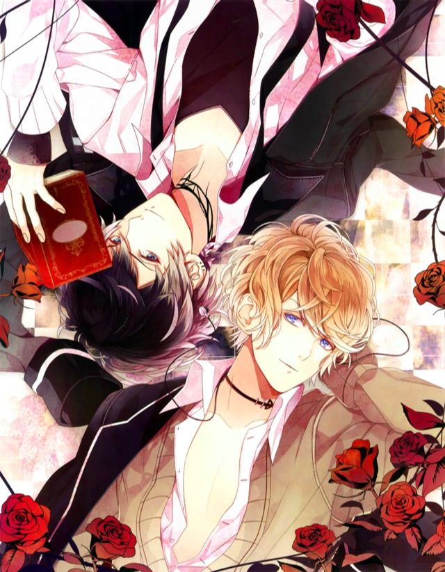 Official Art for the 1st & 2nd place character popularity poll/vote Represent to SHU SAKAMAKI & RUKI MUKAMI
