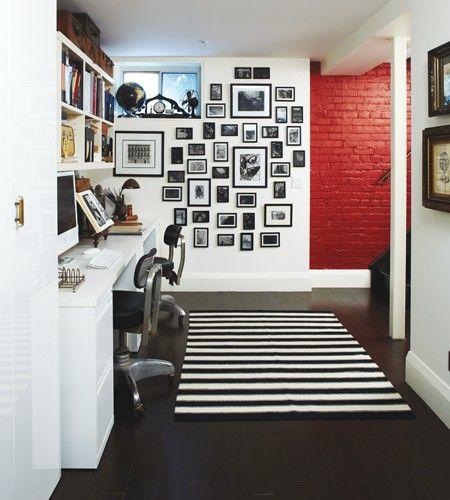 Lovely Wall Ideas for Basement