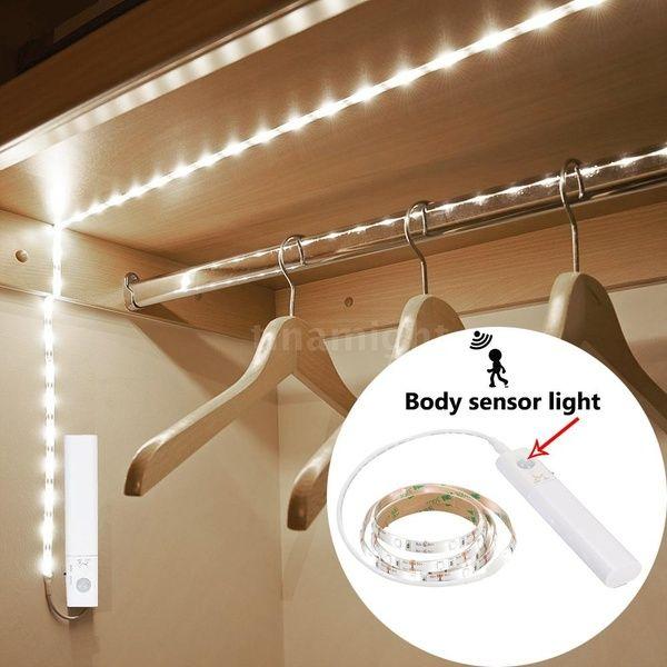 Sensitive Pir Motion Sensor Strip Light Cabinet Lamp With