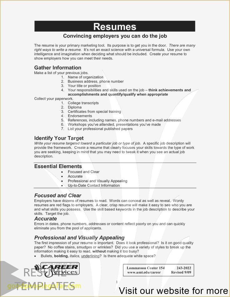Resume Example 2020 Reddit
