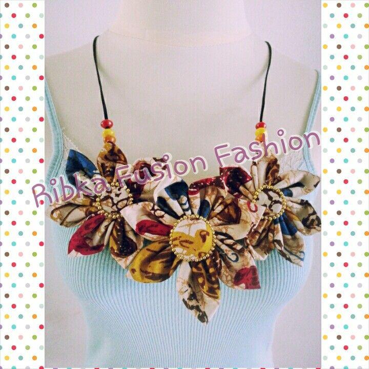 Kalung Batik, ethnic necklace
