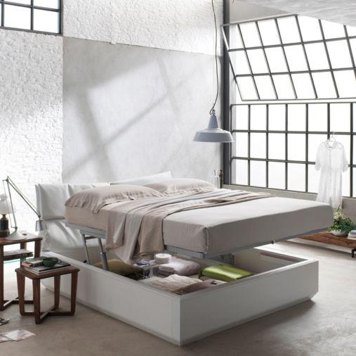 Letto camera zonanotte comfort funzionale tradizionale legno mobile