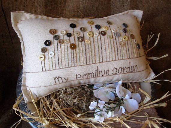 Mio cuscino giardino primitivo (stile Cottage)