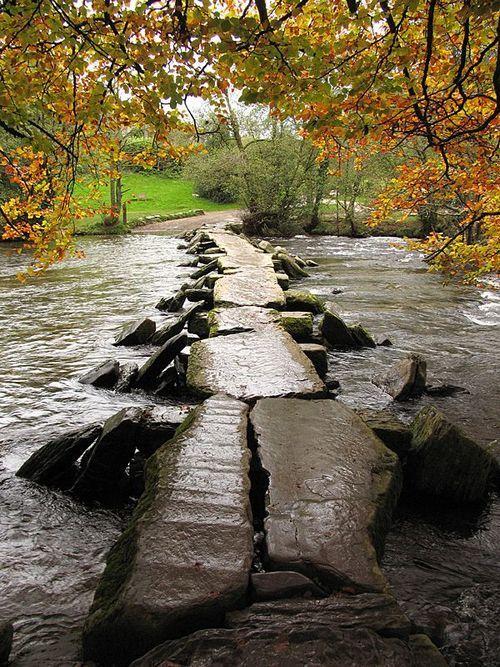 Autumn, Tarr Steps, Devon, England