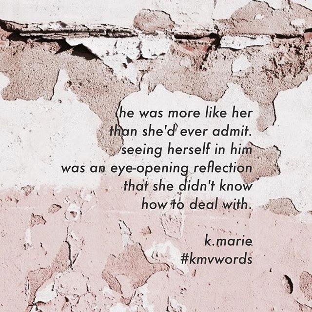 mirror images. #kmvwords #omypoetry