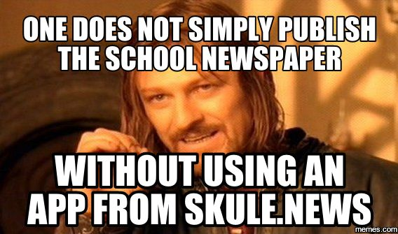 Learn how to take your School Newspaper into the future with Skule News