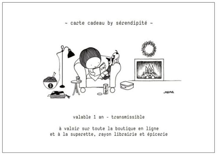carte cadeau - la superette by sérendipité - by Nana