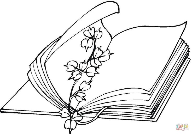 flower-bookmark-coloring-page.jpg (1200×839)