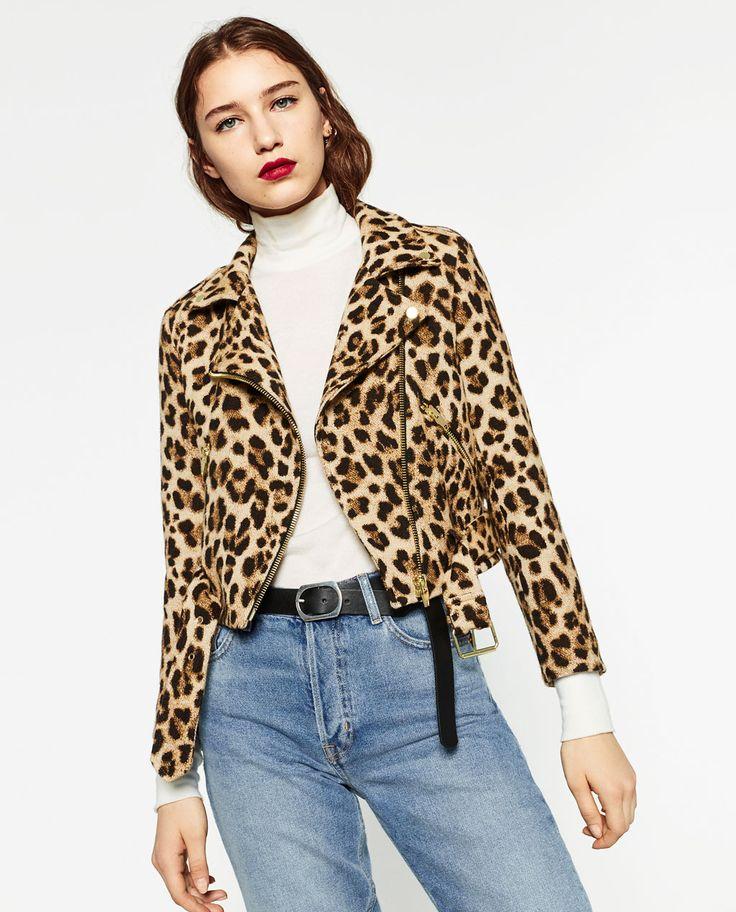 ANIMAL PRINT JACKET-Jackets-OUTERWEAR-WOMAN | ZARA United States