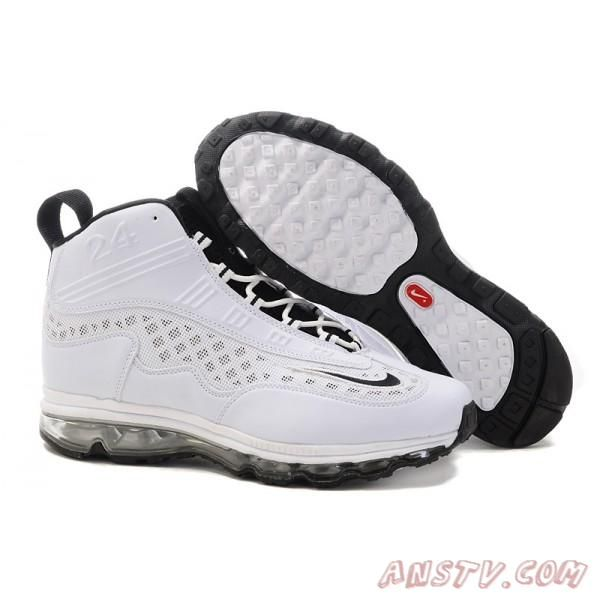8d24e59d51 ... Nike Air Max Jr. - Blanc Noir Air Max Homme Fashion Pinterest Air max  New mens nike air max ken griffey jr grayorange shoes Nike Air Max JR Fall  2011 ...