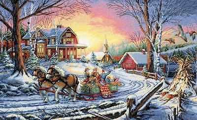 Pleasures Of Winter Cross Stitch Pattern