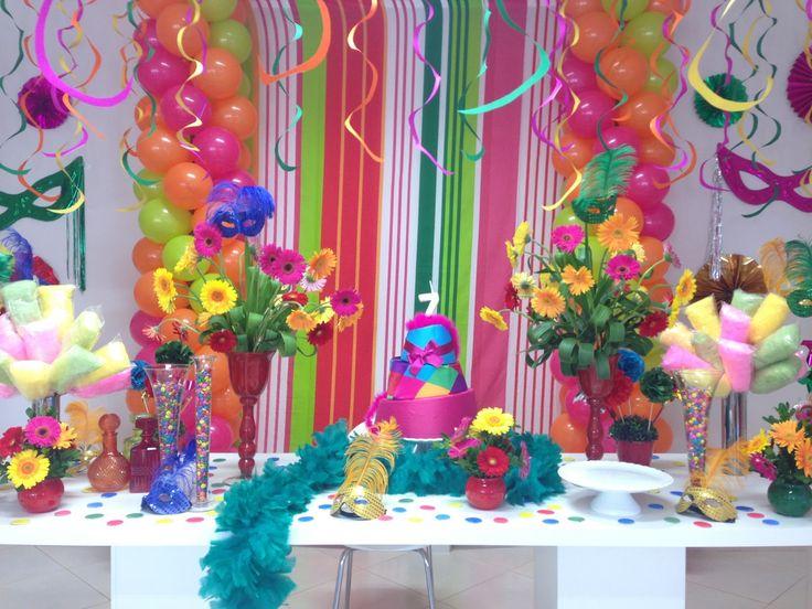 Olá queridas!!! O carnaval já se aproximando, trazendo com ela muitaalegria e diversão. Que tal aproveitar toda essa magia e encanto da festa do carnaval e fazer como tema de aniversáriodos pequenos e reunir todo mundo e fazer aquelafolia Podem soltar a imaginação e brincar com muitas cores, fantasias, serpentina, mascaras. Confetes e serpentinas dão …