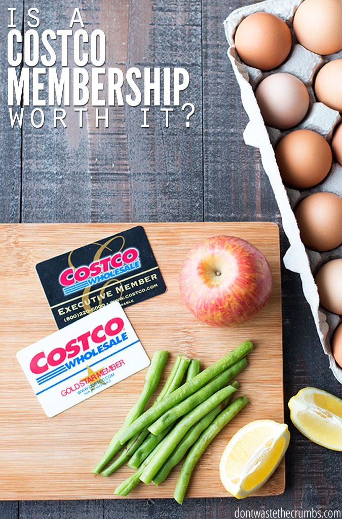 Is a Costco membership worth the fee? Is it worth the gas? We evaluated both and if you've ever wondered whether a Costco membership is worth it, you need to read this post! :: DontWastetheCrumbs.com