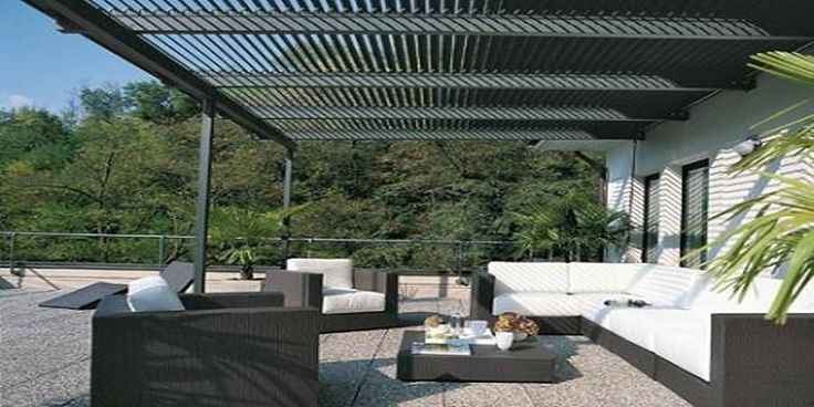 M s de 25 ideas incre bles sobre pergolas metalicas en for Terrazas metalicas