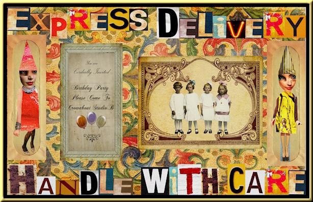 ....mail-aRt collage enveloppe