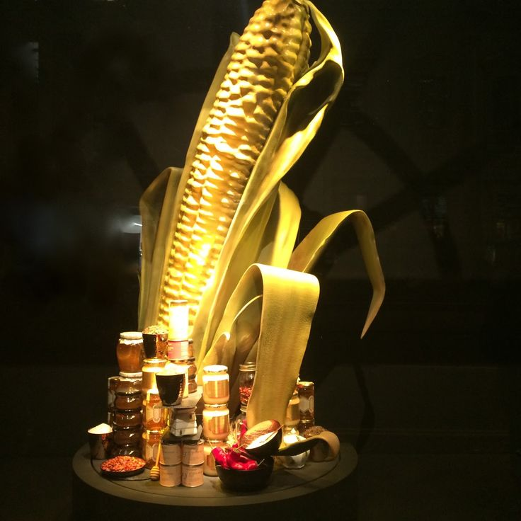 """FORTNUM & MASON,London, UK, """" The Corn"""",(Perfect product compositions), photo by Mes Vitrines, pinned by Ton van der Veer"""