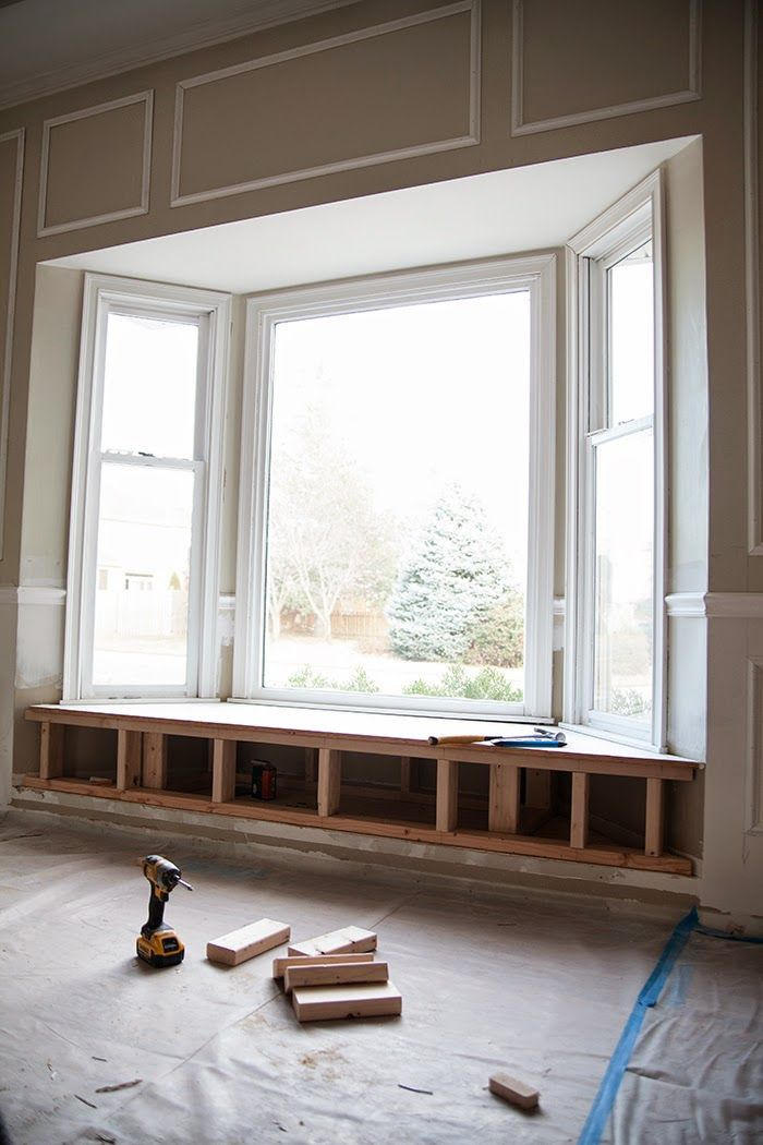 How to build a window seat #home #improvements