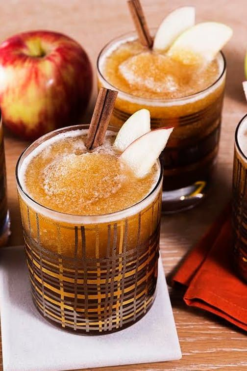 Boozy Cider Slushies Are the Best Thing That's Ever Happened to Fall via @PureWow