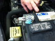 2005 honda pilot battery light