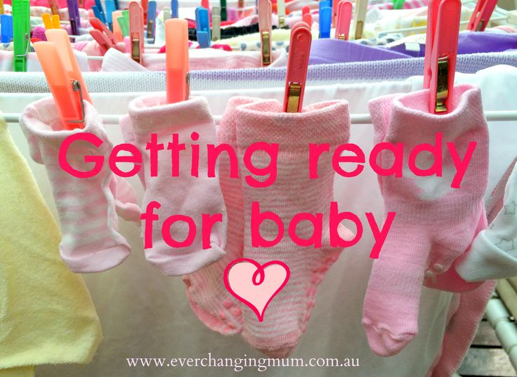 Getting ready for baby - Ever-changing Life of a Mum