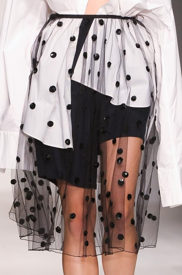 Ashish SS 2013 // Learn how to hand render a dot pattern: http://www.universityoffashion.com/lessons/rendering-dots/