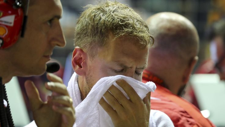 Singapore Grand Prix: Max Verstappen blames Sebastian Vettel for crash    Red Bull's Max Verstappen blames Ferrari's Sebastian Vettel for the first-lap crash that took three cars out of the Singapore Grand Prix.   http://www.bbc.co.uk/sport/formula1/41301561