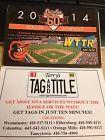 2014 Baltimore Orioles Baseball Schedule WTTR & Terry's - http://oddauctions.net/sports-memorabilia/2014-baltimore-orioles-baseball-schedule-wttr-terrys/