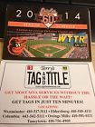 2014 Baltimore Orioles Baseball Schedule WTTR & Terry's - http://oddauctions.net/sports-memorabilia/2014-baltimore-orioles-baseball-schedule-wttr-terrys/