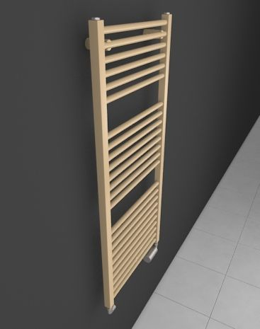 Star: Bathroom towel warmer HOTHOT suitable into small bathroom. Simple towel rail radiator for good price. Angular electric radiator, central heting radiator or dual fuel radiator. Available in 216 colours. Chrome radiator. Bespoke radiator. Delivery: 4 weeks.