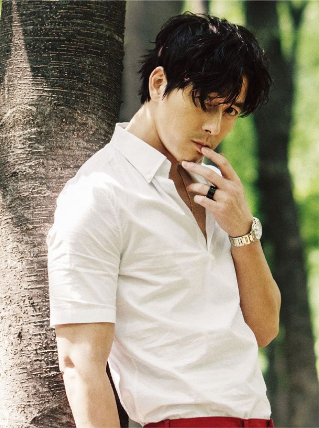 Jung Woo Sung L'Officiel Hommes Korea Magazine July Issue '13