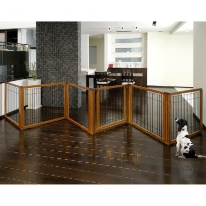 Convertible Indoor Pet Gate by Richell -wide coverage up to 11 feet – OfficialDogHouse
