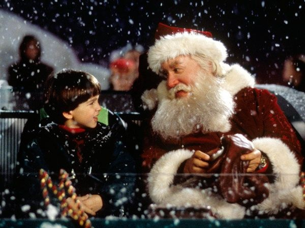 The Santa Clause (1994) all time favorite movie. no joke.