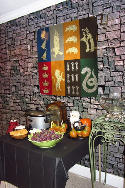 A Harry Potter Murder Mystery Party!!!