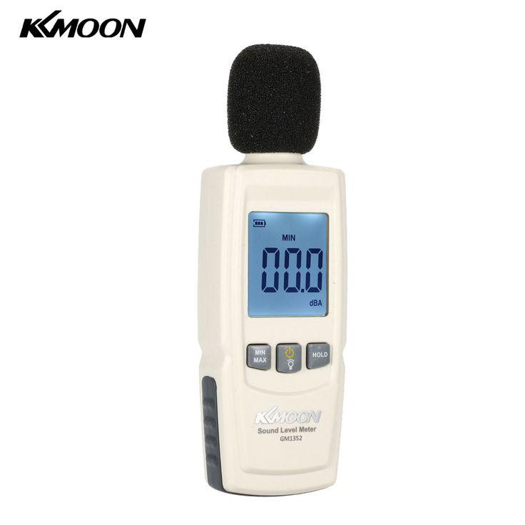 KKmoon LCD Digital Sound Level Meter Noise meter decibel Volume Measuring Instrument device Decibel Monitoring Tester 30-130dB