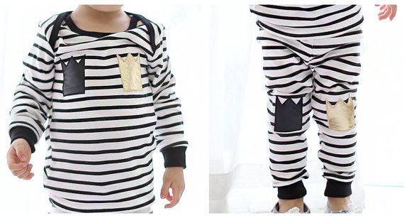 Striped Pajamas for kids