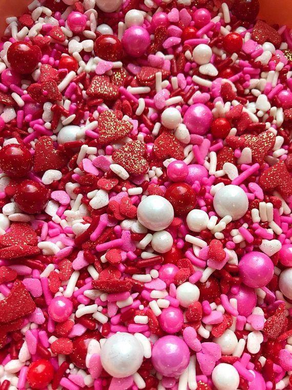 Edible Sprinkles Special Edition True Love Sprinkle Mix | Sprinkles