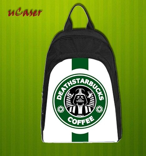 Starbuck Dart Vader  Custom Casual school bag, Backpack