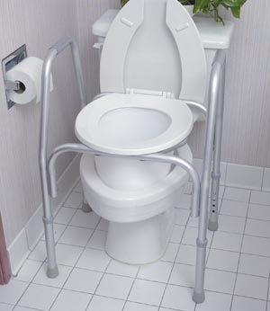 High Quality The All Purpose Commode Is Ideal As A Free Standing Commode, As A Toilet  Safety Frame, Or As A Raised Toilet Seat With Arms.