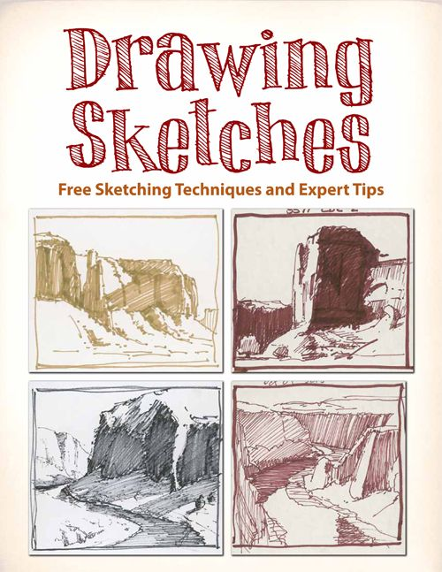 Drawing sketches free sketching techniques more