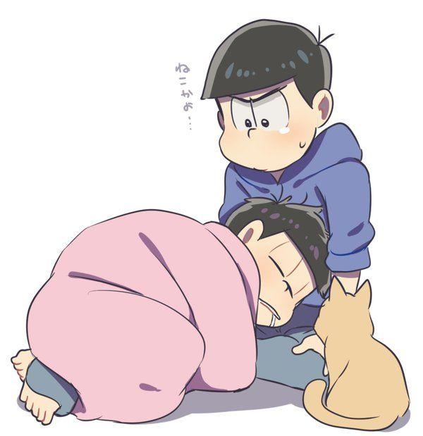 おそ松さん Osomatsu-san 一松&カラ松