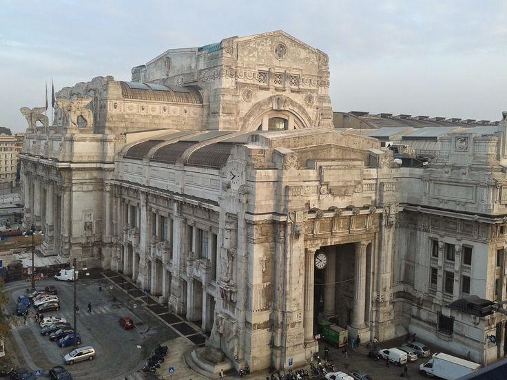 Deixando Pavia, mas só por 12 dias! | Guia Turística à Distância - ESTAÇÃO DE TREM CENTRAL DE MILÃO