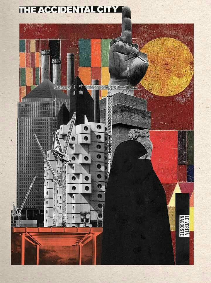 La città ' ACCIDENTALE ' nata dalla necessità di creare caos [come disfunzione della praticità] e nel quale la casualità e la confusione prendono atto della loro grandezza.