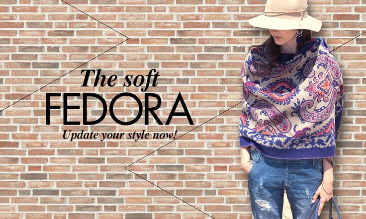 Achilleas Accessories FW2016 | The soft fedora!
