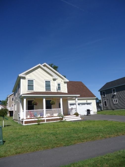 Enjoy this beautiful 2012 colonial in one of Saco's newest subdivision, Ross Ridge.  Built in 2012, this 2 story colonial offers hickory hardwood flooring, marble countertops, master bedroom suite, den, deck, bonus room over garage and so much more.
